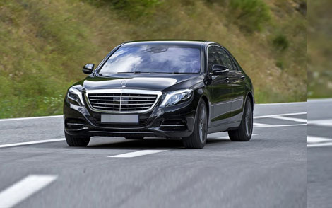 S-class without driver