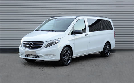 Mercedes-Benz Vito w447 white